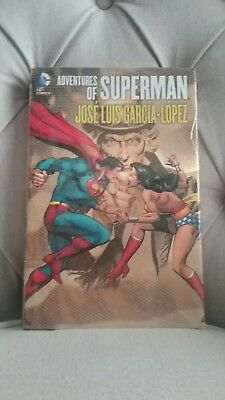 DC Comics, Adventures of Superman, Jose Luis Garcia-Lopez. Hardcover.