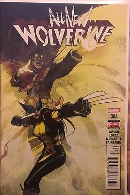 All New Wolverine 4 X-23 Laura Kinney First Print