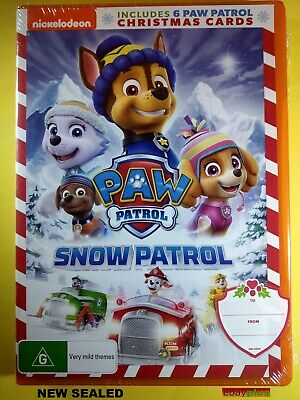 NEW - Paw Patrol Snow Patrol DVD 2018 Region 4 BRAND NEW/SEALED, Priority Post