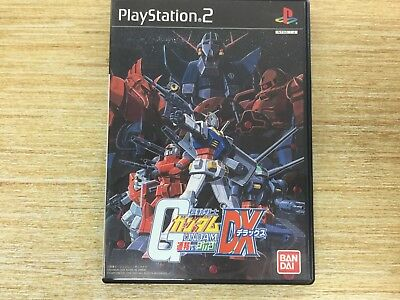 Mobile Suit Gundam: Federation vs. Zeon DX Japan Import PS2 WORKS PERFECT