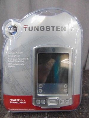 Palm Tungsten E Handheld Palm OS 5.2.1 126 MHz 32 MB RAM 8 MB ROM