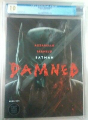 BATMAN DAMNED #1 CGC 10 Gem Mint uncensored 1st DC Black Label