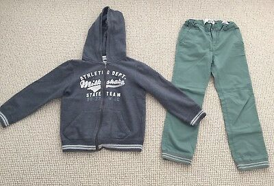 Boys Milkshake Hoodie Jumper & Cotton On Kids Long Pants  - Size 8