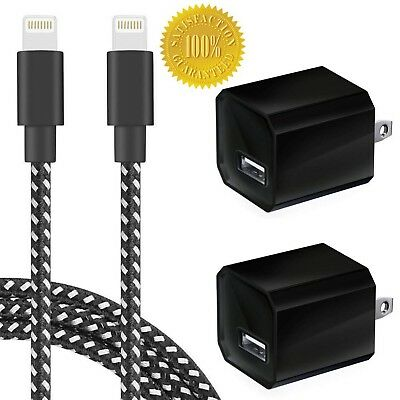 Boost Chargers 5W USB Power Adapter Wall Charger 1A Cube for Plug Outlet w/ 3...