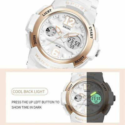 Multifunctional Sports Wristwatch SMAEL Women Wrist Watch Dual Display Watch T1