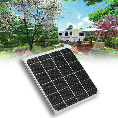 5W 2V Solar Panel Waterproof RV Touring Car Camping Pet Chicken House E2A8