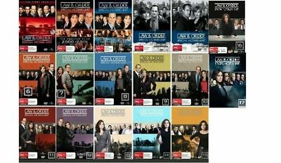 Law & And Order SVU Complete Series Seasons 1-17 DVD Set 60 day warranty NEW