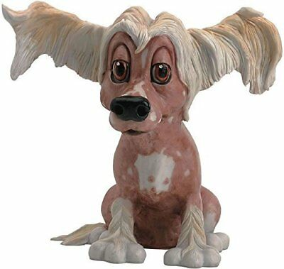 CHELSEA the CHINESE CRESTED Figurine/Statue  (Pet with Personality) PP557 NEW