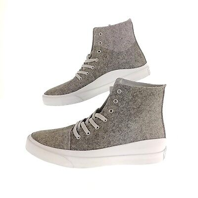 22d83e3cca9e Converse Mens 10 Womens 12 Shoes AS Quantum Hi Ash Gray White Volt Sneakers