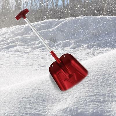 Folding Snow Shovel Collapsible Emergency Car Aluminum Compact Foldable Tool