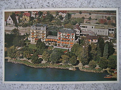 Collectable Vintage Montreux, Switzerland Postcard - Hotel Lorius - Unused