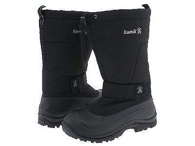f7e6f452f82 MENS KAMIK GREENBAY -40° Insulated Waterproof Winter Boots Sz 9 ...