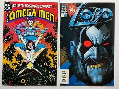 Omega Men 3 (first appearance of Lobo) & Lobo 1 - Solid Copies