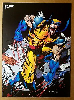 Wolverine Marvel Comics Poster by Bart Sears