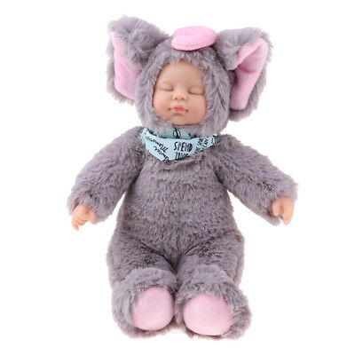 Cute Plush Sleeping Baby Doll Newborn Doll Soft Stuffed Baby Doll Toys Gifts