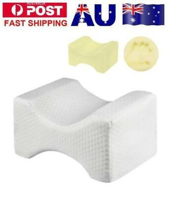 Memory Foam Leg Pillow Cushion Knee Support Pain Relief Shaping Washable Cover 1