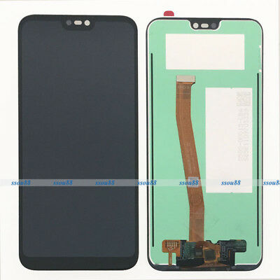 Black For Huawei P20 Lite Touch Digitizer Screen Glass + LCD Display Assembly