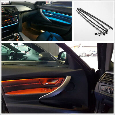 Blue & Orange LED Adjustable Car Interior Door Panel Decor Light For BMW F30/F31