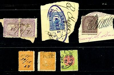 Australis, New South Wales, Stamps 1881 - 1919 stamp duty, revenue