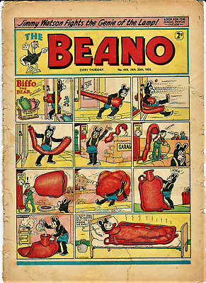 BEANO # 444 January 20th 1951 the comic magazine