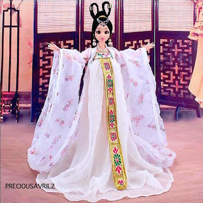 New Barbie Doll Clothes - Chinese Traditional Dress Evening Outfit Clothing.