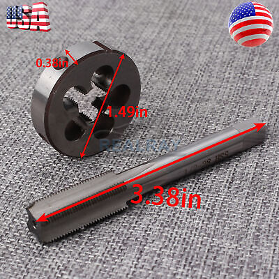 """Sale 1//2/""""-28 Gunsmithing Tap and Die Set DIY Replacement Accessories Tools Parts"""