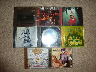 Cd bundle lot - Alternative - indie 90's(12 rounds,green day,die krupps,whale++)