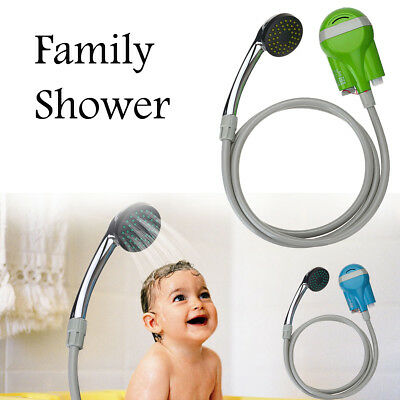 Pet Kids Water Shower Rechargeable USB Pump Car Nozzle Washer Camping