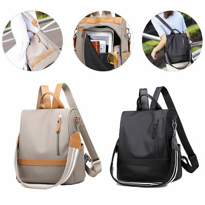 Anti-theft Waterproof Backpack Oxford Cloth Laydies Shoulder Bag Travel Rucksack