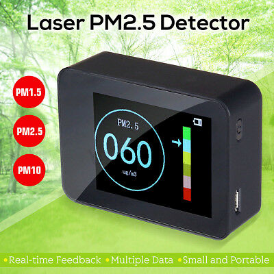 Laser Sensor PM2.5 Detector Household Air Quality Tester Real-time feedback Home