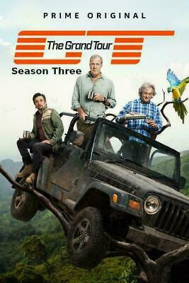 The Grand Tour Season 3 DVD Brand New Sealed 1st Class Delivery