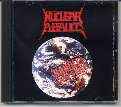"""Nuclear Assault """"Handle With Care"""" 1989, CD"""