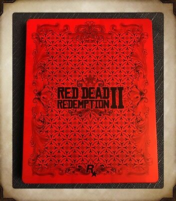 Red Dead Redemption 2 Collectable Steelbook Only Brand New from Ultimate Edition