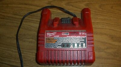 Genuine Milwaukee M18 48-59-1801 18 volt  LI-ION Battery Charger (LOT of TW0 )