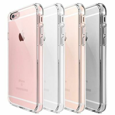 Case For iPhone 7 Plus Cover Shockproof 360° Silicone Protective Clear