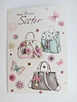 Sister birthday card~Birthday card sister~Birthday cards~Quality cards~