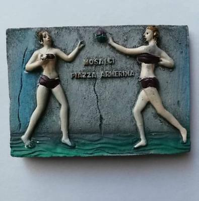 Fridge magnet resin - Piazza Armerina