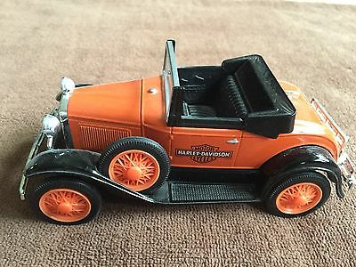 Harley-Davidson 1929 MODEL A ROADSTER COIN BANK - - New in Box - - 1/25 Scale