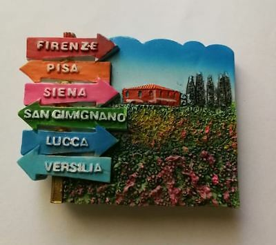 Fridge magnet  resin - Toscana