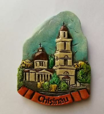 Fridge magnet  resin - Chisinau