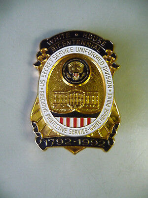 Abzeichen White House Bicentennial 1992 US Secret Service / Replik Göde