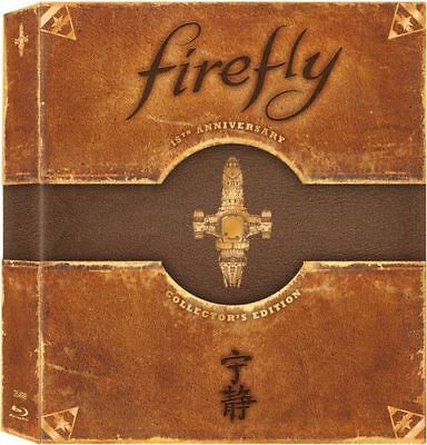 Firefly: The Complete Series (3 Disc Limited Anniversary Collectors) BLU-RAY NEW