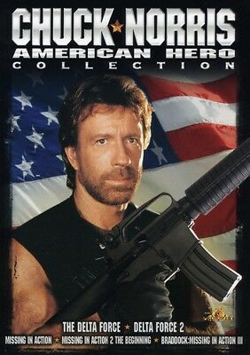 Chuck Norris: American Hero Collection (4 Disc) DVD NEW