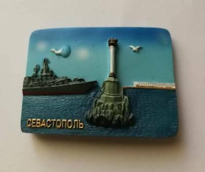 Souvenir Fridge magnet  resin - Sevastopol