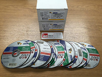 """Sia 4-1/2"""" / 115Mm Slitting / Cutting Discs 1Mm For Stainless Steel & Metal"""