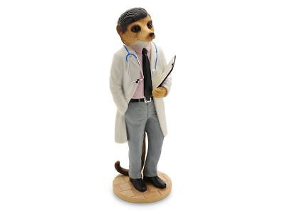 Magnificent Meerkats CA04510 Doctor On Call Figurine Ornament Collection Figure