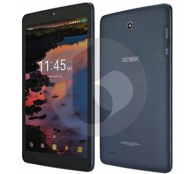 NEW Alcatel A30 16GB | 8in Tablet | Wi-Fi + 4G LTE (GSM UNLOCKED)