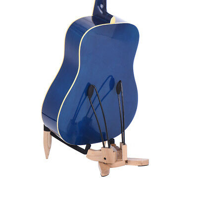 Acoustic Folk Electric Acoustic and Bass Guitar Stand Black G2K4