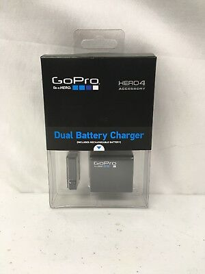 GoPro Official Dual Battery Charger + Battery for HERO4 Accessory (#K81)