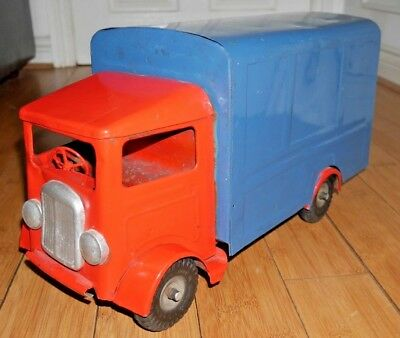 Vintage Triang Minic Transport Van 200 Lines Bros Rare Large Toy Lorry C470